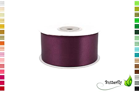 25 m rollo cinta de raso 38 mm//lazo satén decoración cinta ...
