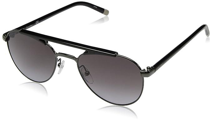 Calvin Klein Hombres lentes de sol Ck1220s, estilo aviador ...