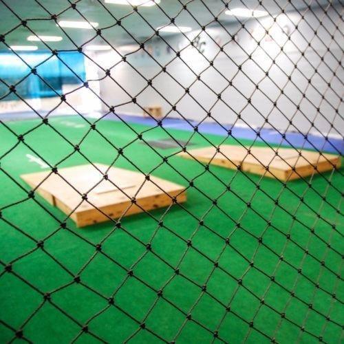 WALLER PAA 10' x 20' Black Heavy Duty Fully Edged Baseball Net Batting Net Netting New by WALLER PAA