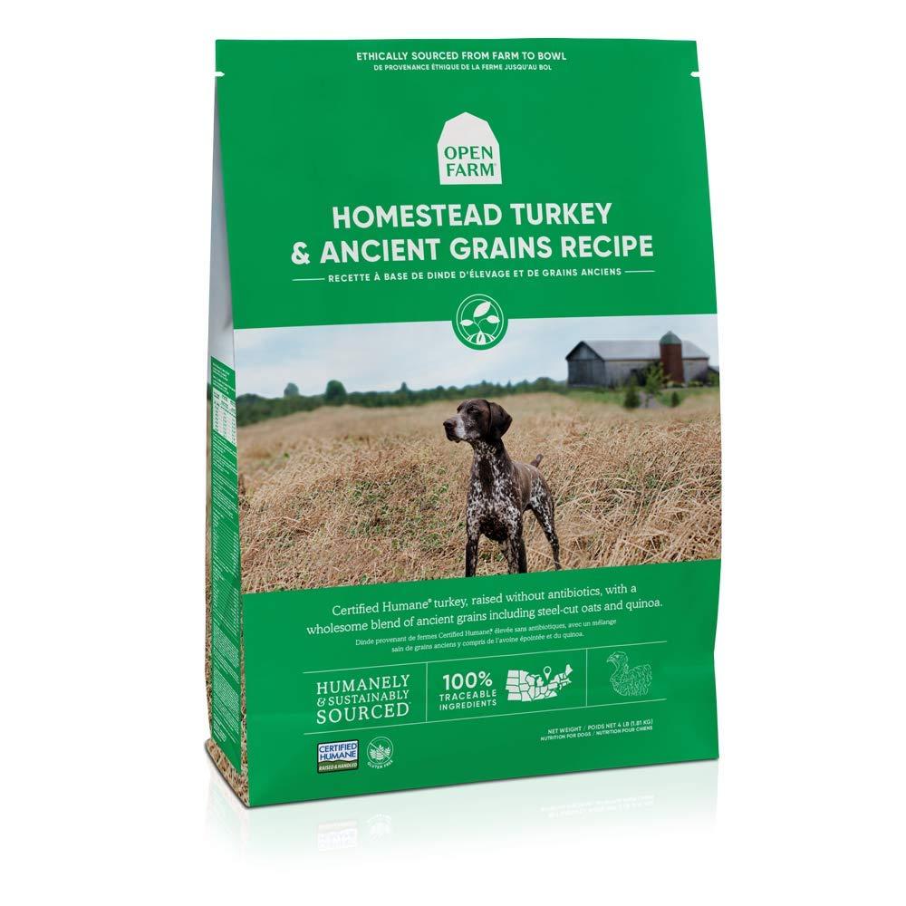 Open Farm Homestead Turkey and Ancient Grains Recipe Dry Dog Food