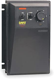 product image for DART CONTROLS 530BRE-36MA 1/8 Thru 2.0 HP NEMA 4/12 Dual Voltage Control and Forward-Reverse with Heavy Duty Dynamic Brake and Zero Speed DETECT. -36MA Option is 120 Volt.