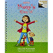 Mom's Plan-It 17 Month Weekly & Monthly 2017 Planner