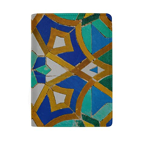 Flores y Azulejos marroquíes Que bloquean la impresión de la ...
