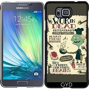 Funda para Samsung Galaxy Alpha - El Wok De Muertos by AnishaCreations