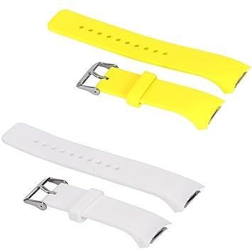 2 piezas grandes/pequeñas bandas para Gear FIT2 Pro reloj ...