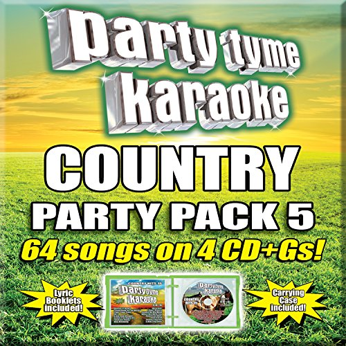 Party Tyme Karaoke - Country Party Pack 5 [4 CD][64-Song Party Pack]