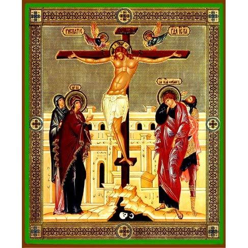 World Faith Religious Icon The Crucifixion 8