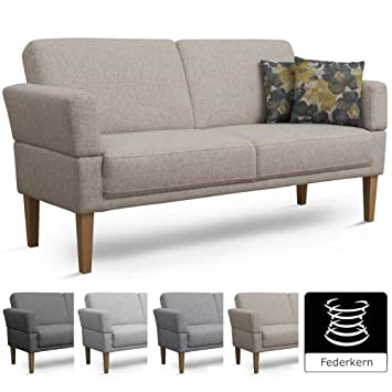 Cavadore 3er Sofa Femarn Küchensofa Für Küche Esszimmer Couch