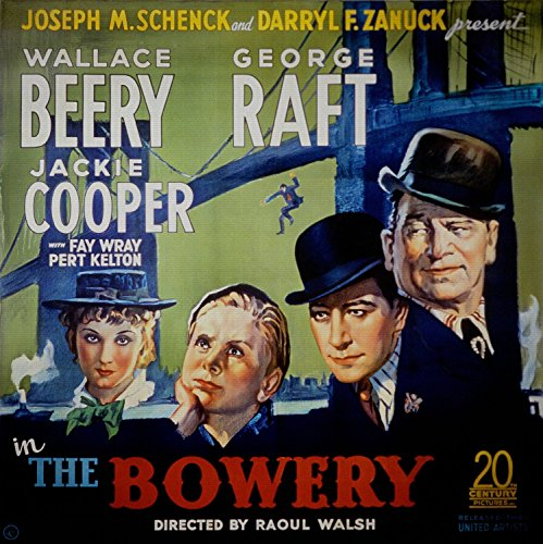 The Bowery, 1933 - Premium Movie Poster Reprint Unframed