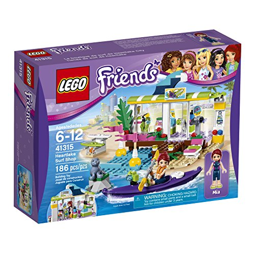 LEGO Friends Heartlake Surf Shop 41315 Building Kit (186 - Shop Rte