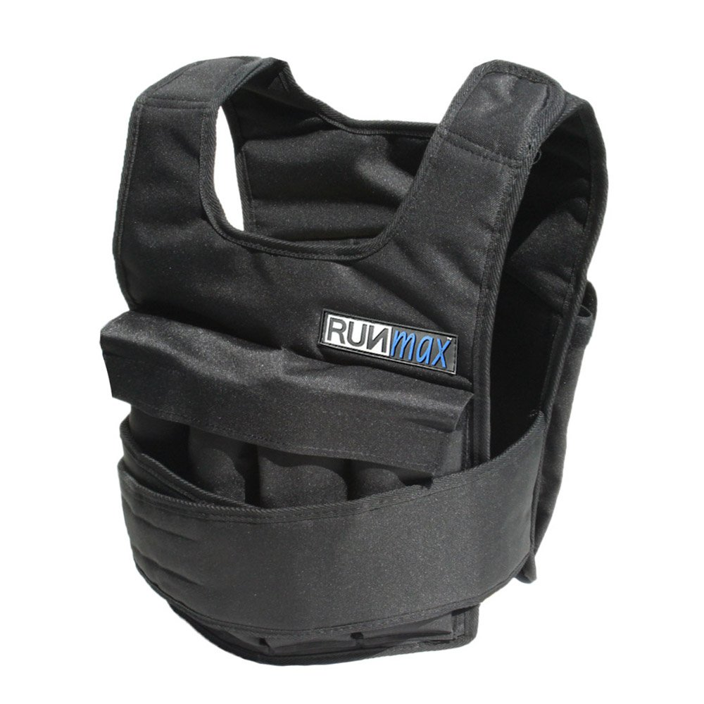 RUNmax Adjustable Weighted Vest with Shoulder Pads (100)