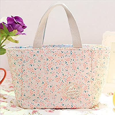 Thermal Cooler Portable Insulated Lunch Box Carry Tote Picnic Case Storage Bag