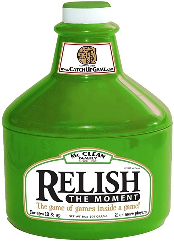 relish in the moment