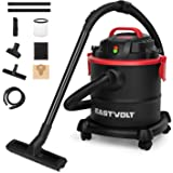 Eastvolt Wet Dry Vacuum Cleaner, 5 Gallon 5.5 Peak HP 3 in 1 Blower, Hepa Filtration Dry Wet Suction for Home, Garage, Vehicl