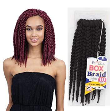 Amazoncom Freetress Epic Box Braid Synthetic Crochet Braiding