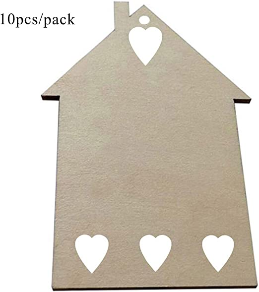 Painting Decoration Craft Embellish Gift Tags Plaques MDF Shapes