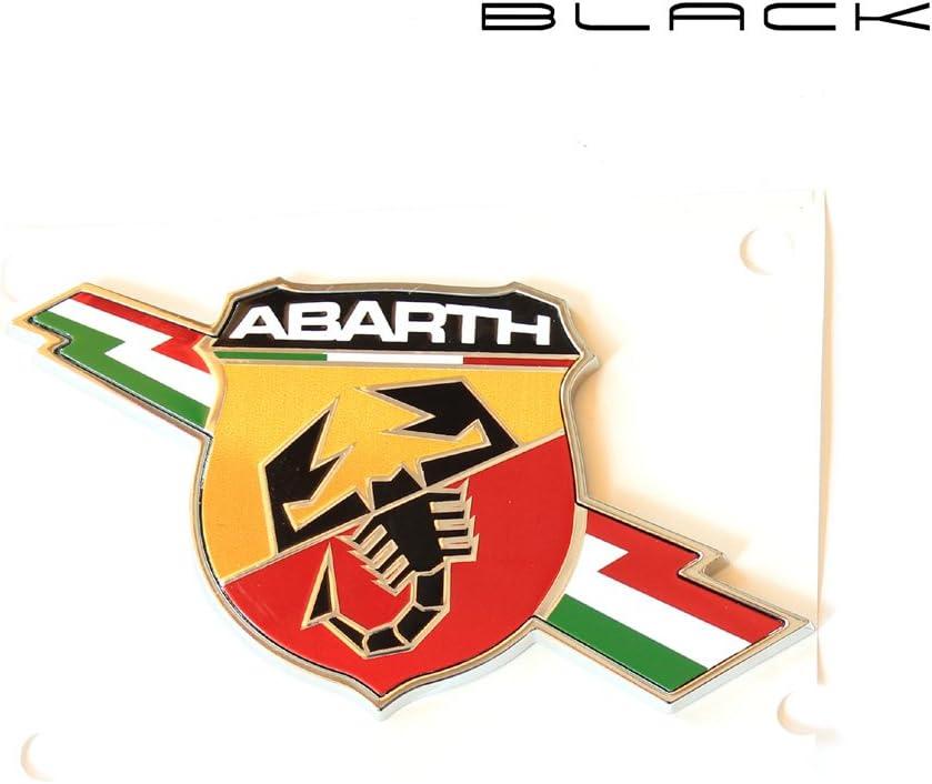 Flash lat/érale Abarth Logo en m/étal