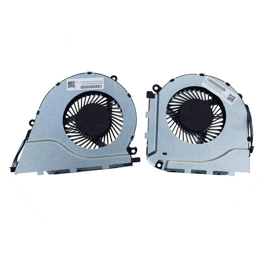 Ventilador CPU GPU HP 17-W 17-W000 17-W100 17-W018CA 17-W033DX 1