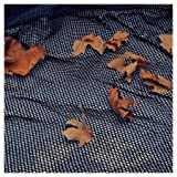 SWIM Closing Deluxe Leaf for above-Ground Swimming Pools Net Cover, Jet Black, 27'/24'