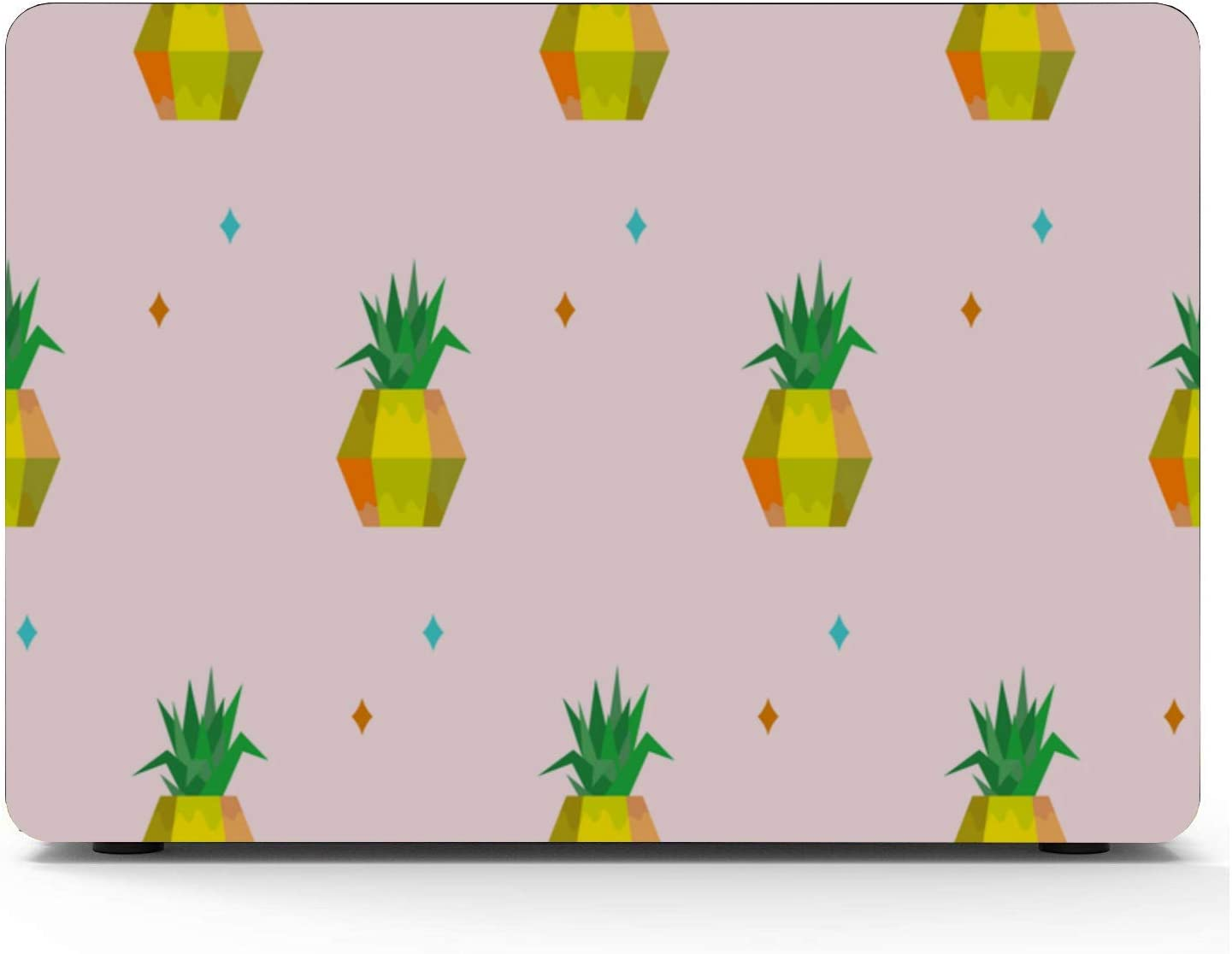 Laptop Protector Summer Sweet Cute Fruit Pineapple Plastic Hard Shell Compatible Mac Air 11 Pro 13 15 MacBook Air Hard Cover Protection for MacBook 2016-2019 Version