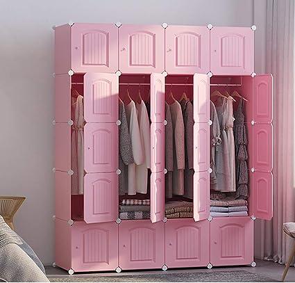 Xnxn Organizador portátil de armario de resina, armario con ...