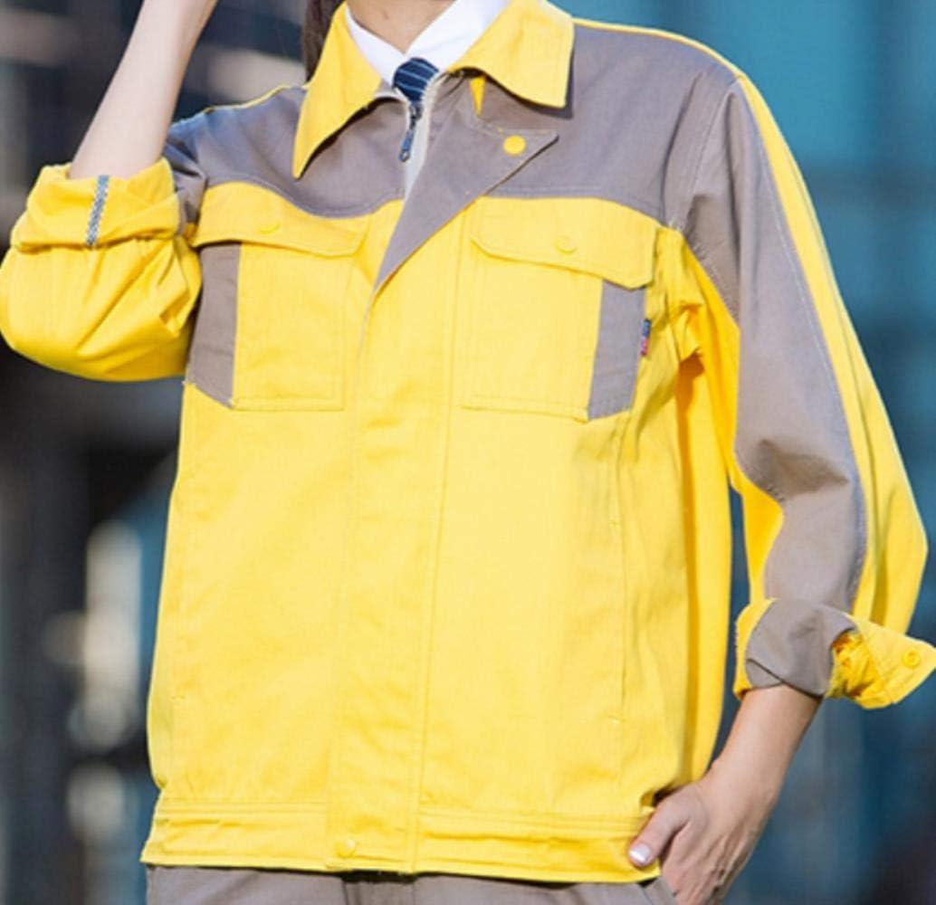 Chaleco Reflectante Seguridadconjuntos De Ropa De Trabajo Hombres Mujeres Chaquetas De Trabajo + Pantalones Otoño Invierno Reparación De Máquinas Soldador Trajes De Trabajo Uniformes De Trabajo, Foto: Amazon.es: Bricolaje y herramientas