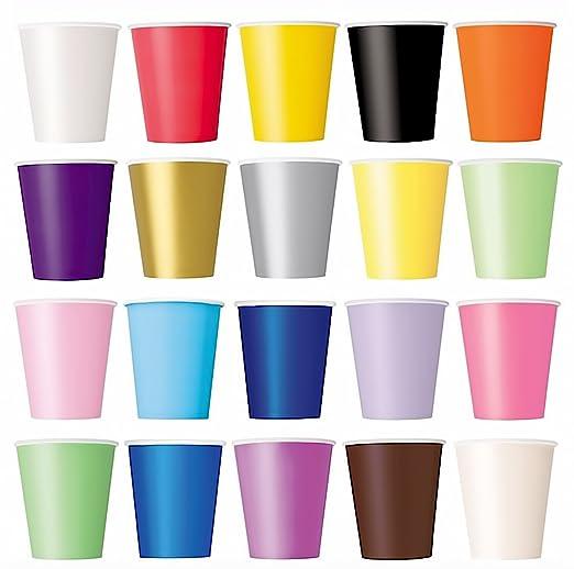 Taza de caf/é Jard/ín 50/x Vasos Lila vasos desechables para bebidas fr/ías y bebidas calientes de cart/ón respetuoso con el medio ambiente bodas picnic partido barbacoas cumplea/ños