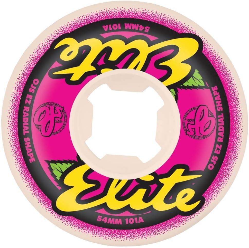 56mm OJ Elites EZ Edge 101a Skateboard Wheels