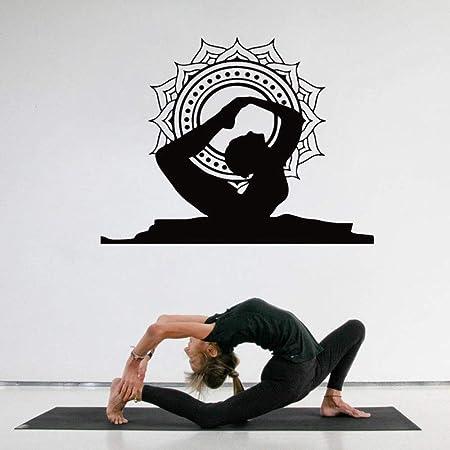 jiushixw Decoración casera Creativa Yoga Pose de Arco ...