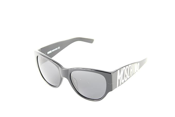 Moschino MO-851S-01 Gafas de Sol, Black, 56 para Mujer ...