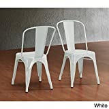 Cheap Tabouret Bistro Steel Side Chairs (Set of 2)