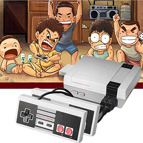 Etbotu Classic Mini Game Consoles,Built-in 620 TV Video Game,With Dual Controllers by Etbotu (Image #3)