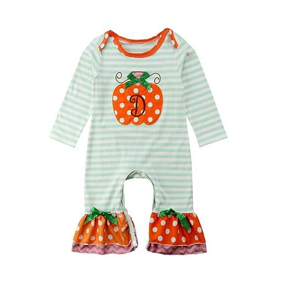 ❤ Tefamore Ropa Bebe Niños Disfraz de Halloween para Mono Recien ...