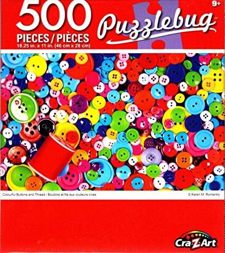 Cra-Z-Art 500 Piece Jigsaw Puzzle ~ Yummy America