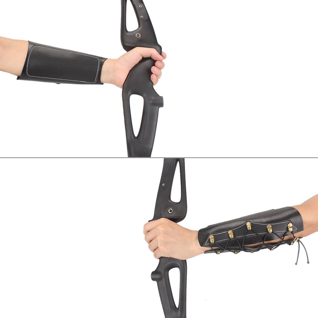 Archery Arm Guard Adjustable Wristband Protective Guard for Hunting Target Bow