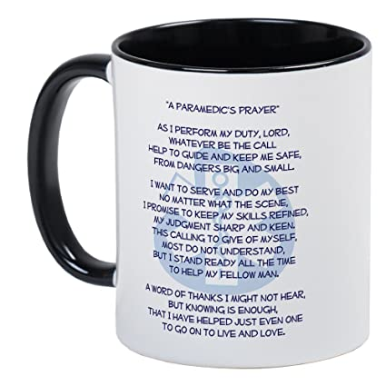 f86d3051743 Amazon.com  CafePress - Paramedic s Prayer Mug - Unique Coffee Mug ...