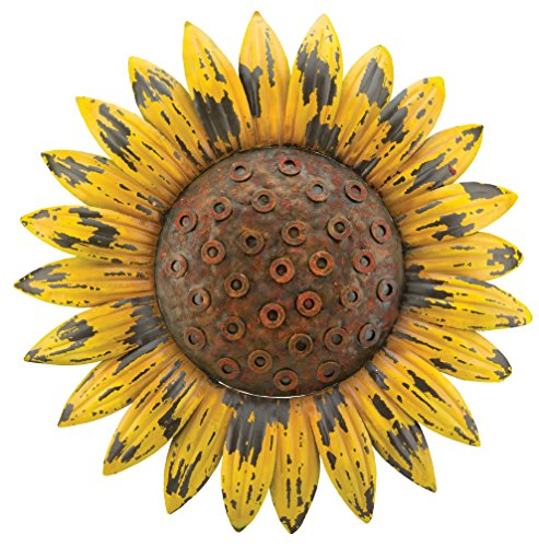 Regal Art & Gift Rustic Flower Wall Decor, Sunflower (Sunflower Metal Wall Art)