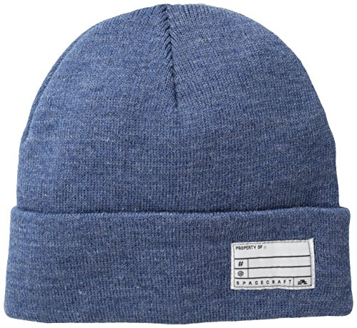 Spacecraft Property of Beanie, One Size Fits All, Medium Blue