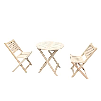 Wooden Slat Folding Chairs.Uhom 3pcs Wooden Folding Chair And Table Outdoor Garden Wood Slat Seat Dining Set Deck Patio Bistro Furniture