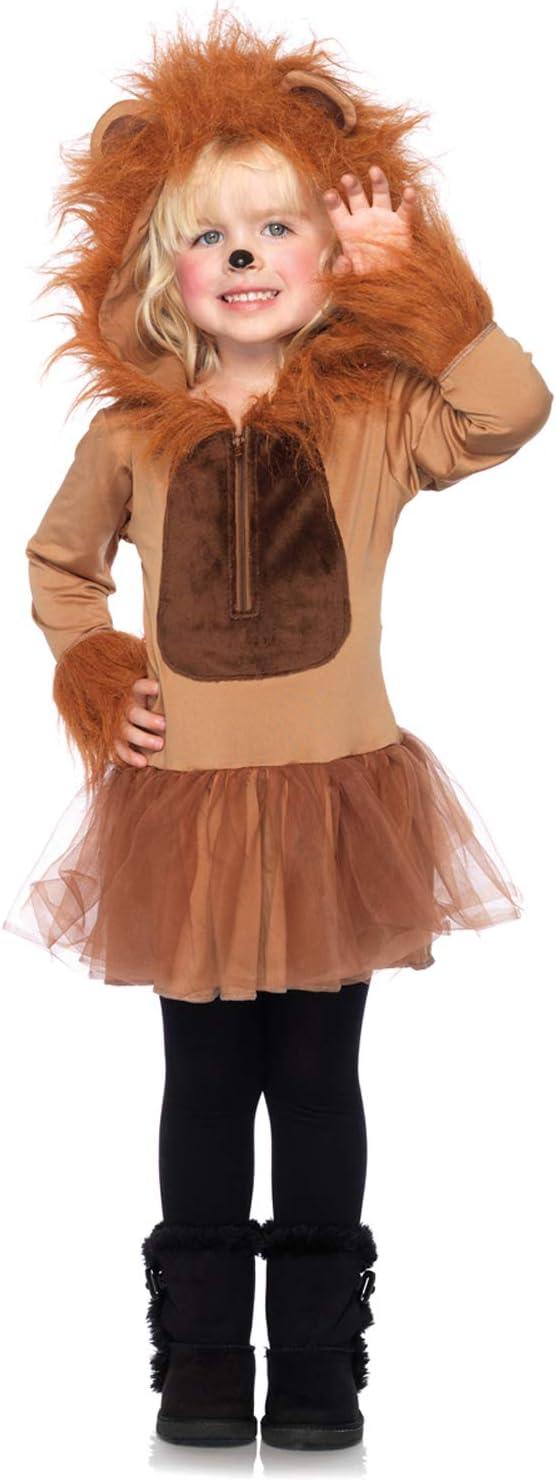 Children's Cuddly Lion Costume, X-Small, Brown