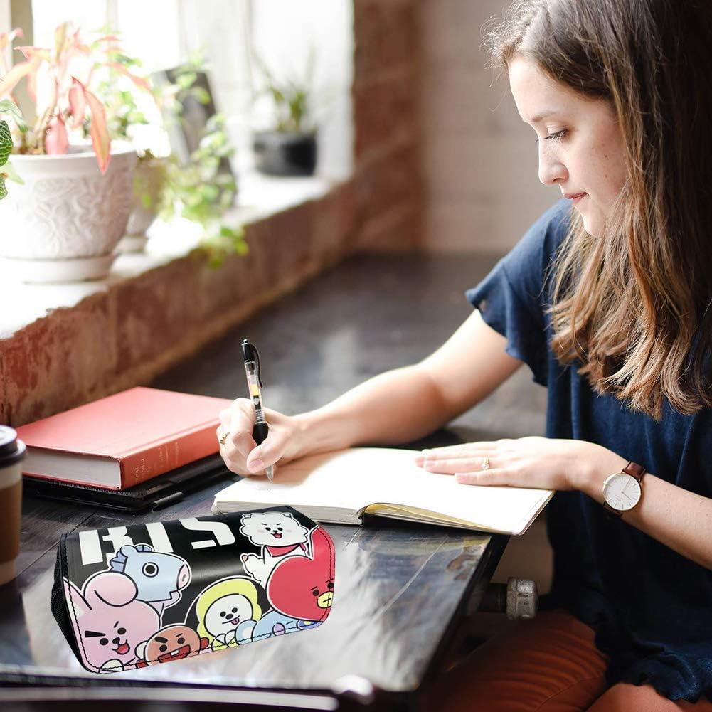 BESTZY Estuches Escolares Compartimentos con Solapa,Kit para Personalizar y Alegrar tu Agenda