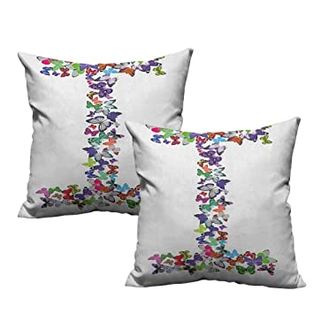 Amazon.com: Sofá salón Hug Funda de almohada letra H ...