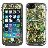 Skin Decal for LifeProof Apple iPhone 5C Case - Camo Hunter Leaf