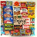 Ultimate Snack Pack Care Package Cookie Chips & Candies Bundle Variety Sampler40 Items 100% SNACK FRESHNESS