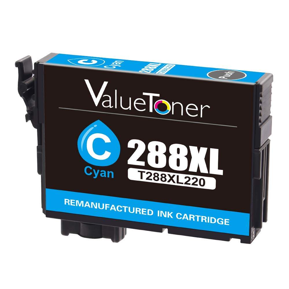Valuetoner T288XL Replacement for Epson 288XL 288 XL Remanufactured Ink Cartridge for Epson Expression XP-340 XP-440 XP-330 XP-430 XP-434 XP-446 Printer(2 Black, 1 Cyan, 1 Magenta, 1 Yellow) by Valuetoner (Image #6)