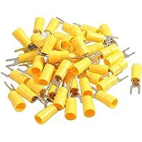 50 piezas SV5, 5-4s AWG 12-10 amarillo aislado