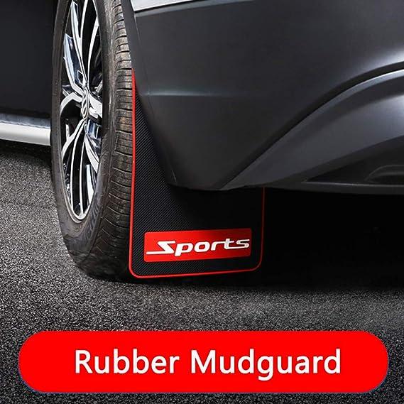 Sports Car Mud Flaps for Nissan Pathfinder Splash Guards Universal Fender Mudguard Soft Rubber Material 2Pcs