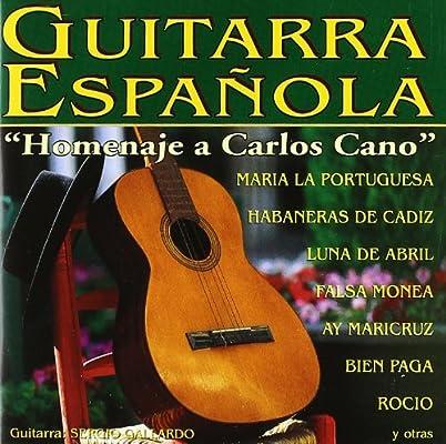 Guitarra Española - Homenaje Carlos Cano: Sergio Gallardo: Amazon ...