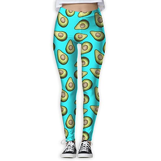 cc0cf6b415 Amazon.com: WJM SHOW Women's Fresh Tropical Fruit Avocado Leggings Yoga  Long Pants Casual Sweatpants Athletic Gym Pants: Clothing