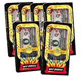 (Set of 6) Retro Pinball Money Machine Puzzles - Fun Challenging Gift Holder